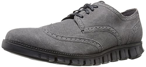 Cole Haan Men's Zerogrand DC Wng S.O Oxford, Magnet Printed Canvas, 9.5 M US (Cole Haan Mens Grey Shoes compare prices)