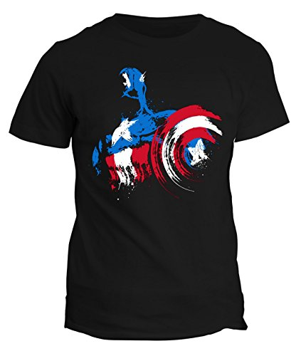 Tshirt Tribute to captain america- serie tv - in cotone by Fashwork