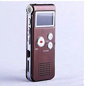 Digital Voice Recorder 8GB 650Hr Dictaphone FM Radio MP3 Player Rechargeable