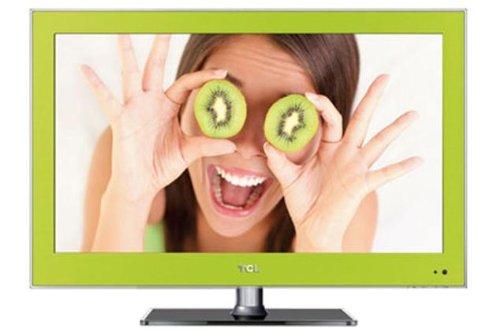 TCL L26E3140C 66 cm (26 Zoll) LED-Backlight-Fernseher, EEK B (HD-ready, 50 Hz, DVB-C/-T, 2x HDMI, CI+, USB 2.0, Hotelmodus) grün