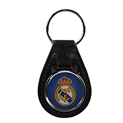 Real Madrid C.F. Leather Keychain