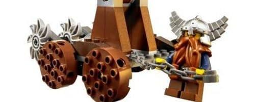レゴ キャッスル ドワーフ戦士vsしにがみウォリアーズ 7040