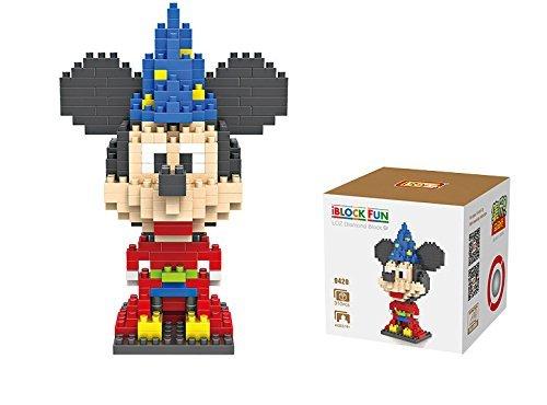 Disney Mickey Mouse as the Sorcerors Apprentice - iBlock Fun LOZ Diamond Micro Block Set