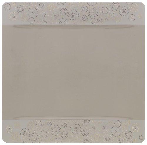Assiette de présentation en porcelaine - 35 x 35 cm - MODERN GRACE