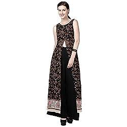 Eavan Women's Casual Wear Crop work kurta Polyester Kurta