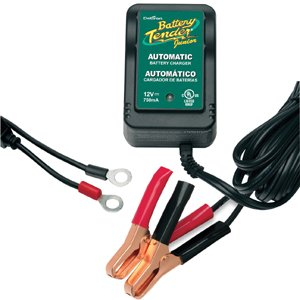 .75 AMP Battery Tender Junior Charger .75 amp battery charger/maintainer for 12 volt batteries -by-Deltran Battery Tender