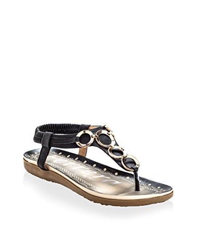 Henry Ferrera Women's Zita 400 Sandal  [Black]