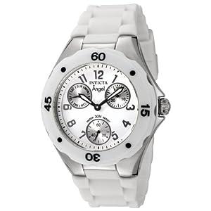 (超值)Invicta 0734 Polyurethane Watch 女子 纯白 石英表 日本机芯 $43.97