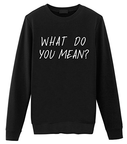Fellow Friends - Justin Bieber What Do You Mean? Unisex Sweater Medium Black