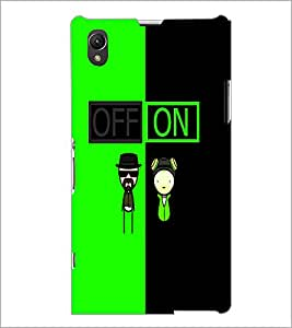 PrintDhaba Funny Image D-4017 Back Case Cover for SONY XPERIA Z1 (Multi-Coloured)