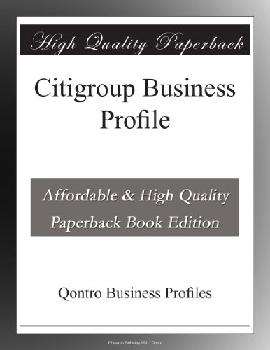 citigroup-business-profile