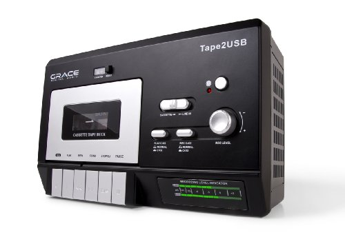 TAPE2USB Cassette To PC Recorder