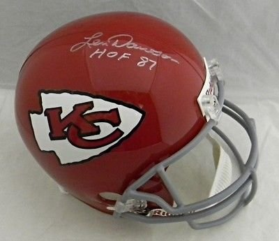 Len Dawson Autographed Signed Kansas City ChieFS Full Sized Helmet (authenticated by JSA)
