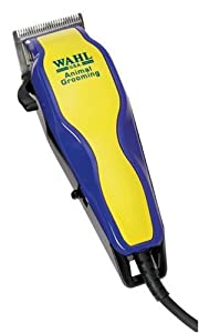Wahl Multi Cut Mains Dog Clipper Set & Instructional DVD Blue / Yellow