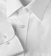 Slim Fit Cotton Rich Quick Iron Classic Collar Twill Shirt