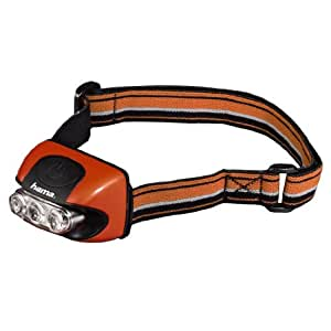 Hama Stirnlampe Hl-30, orange, 00113945
