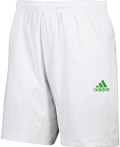 Adidas Mens Barricade Tennis Shorts - White - O04971 -