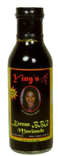 Glass Yings Korean BBQ Marinade Sauce, 12 Ounce