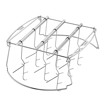 18 in. Expandable Smoking Rack