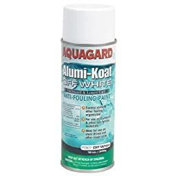 Aquagard Outdrive Outboard Spray Paint Off- White 12Oz