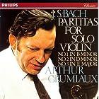 バッハ:無伴奏ヴァイオリン・パルティータ1-3番