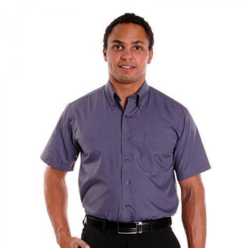 herren-hemd-slim-fit-freizeit-business-kurzarm-t-shirt-polo-style-hemd-scolo-neu-farbegraugrosse41