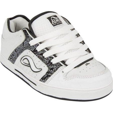 ADIO Kenny V.2 Mens Shoes - White/Black - Buy ADIO Kenny V.2 Mens Shoes - White/Black - Purchase ADIO Kenny V.2 Mens Shoes - White/Black (Adio, Apparel, Departments, Shoes, Men's Shoes, Young Men's Shoes)