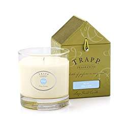 Trapp Signature Home Collection No. 67 Fine Linen Poured Candle, 7-Ounce