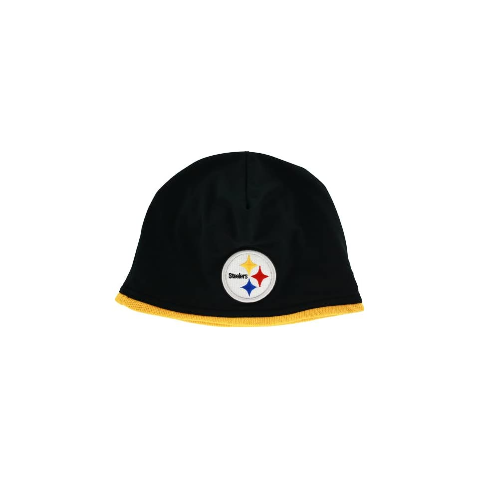 Pittsburgh Steelers NFL Tech Knit New Era Hat (Black)