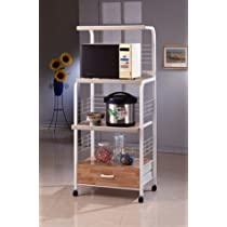 Microwave/ Kitchen Utility Shelf on Casters