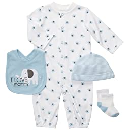 Carter\'s Baby Boys\' 4-Piece Layette Set - Multicolor - 6 Months