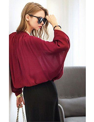 ZXR-femmes-de-mode-sexyplageCasualPlus-Tailles-Chemise--manches-longues-pour-homme
