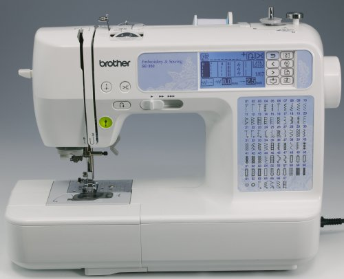 Brother SE350 Computerized Embroidery-and-Sewing Machine - Import It All