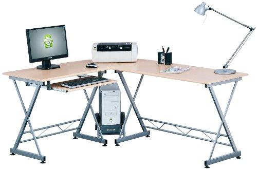 PIRANHA CORNER COMPUTER DESK New Furniture for the Home Office PC 9o