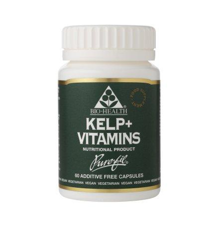 Bio Health Kelp Plus Vitamins 500mg 60 Capsules