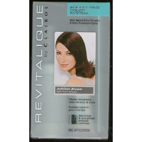 Clairol Revitalique Age Defying Hair Color System with Retinol Color ...