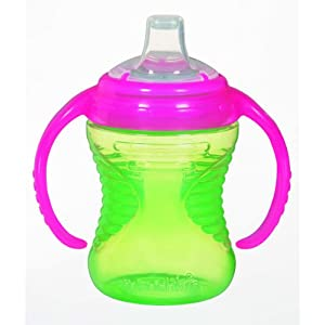 Munchkin Mighty Grip Trainer Cup, Colors May Vary, 8 Ounce