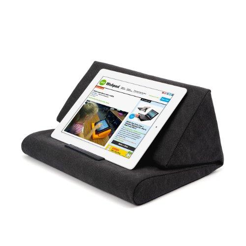 IPEVO PadPillow Pillow Stand for iPad mini & iPad 4 & iPad 3 & iPad 2 & iPad 1 & Kindle & Nexus & Galaxy - Charcoal Gray