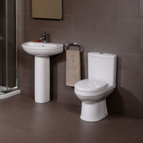 Impressions 1 Tap Hole Bathroom Suite