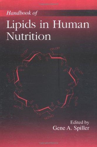 Handbook Of Lipids In Human Nutrition