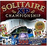 BRAND NEW Selectsoft Games Solitaire Xp Championship OS Windows 98 Me 2000 Xp Real 3D Virtual Play