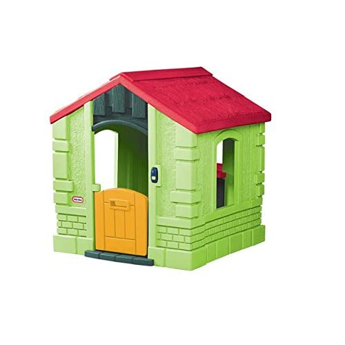 Little Tikes 0716044 - Geheimen Garten Cottage Evergreen, Spielhäuser