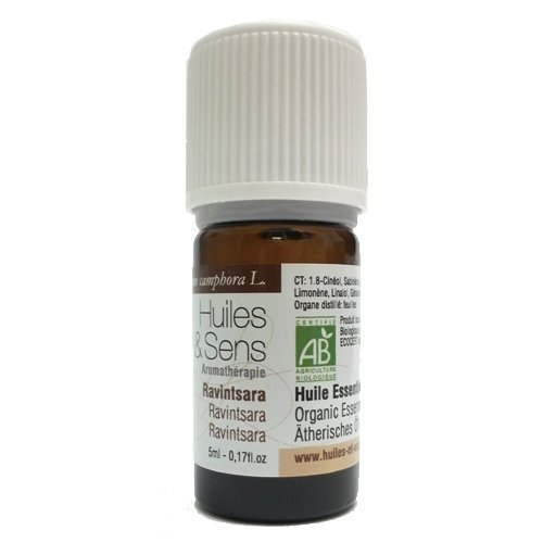 Huiles & Sens - ravintsara essential oil (organic) - 5 ml [Personal Care]