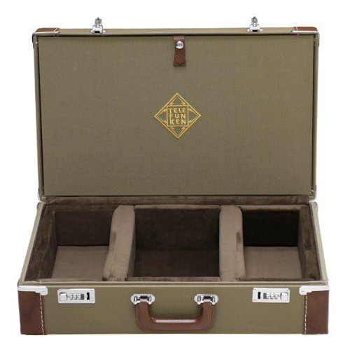 Telefunken Fc40S | Combination Locking Flight Case U47/U48 Studio Or Stereo Set : 2 Mics, Wooden Boxes & Cables, 1 Psu (Fc40S)
