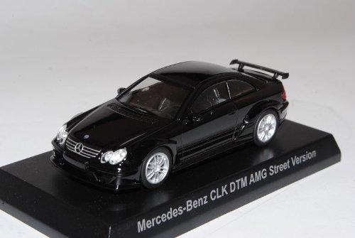 Mercedes-Benz CLK DTM AMG Street VeRSion Coupe Schwarz C209 2002-2010 1/64 Kyosho Sonderangebot Modell Auto