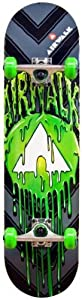 Airwalk Undone Complete Skateboard, Green by Division 6 Sports Inc.