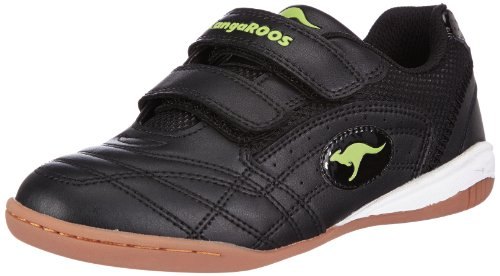 KangaROOS Backyard, Sneaker bambine Nero Schwarz (black/lime 580) 29