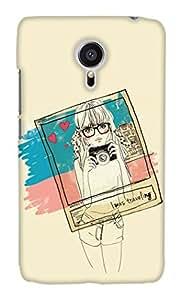 Print Haat Back Case Cover for Meizu MX5 (Multicolor)