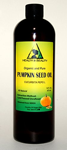 Pumpkin Seed Oil Unrefined Organic Carrier Cold Pressed Pure 64 Oz front-1003385