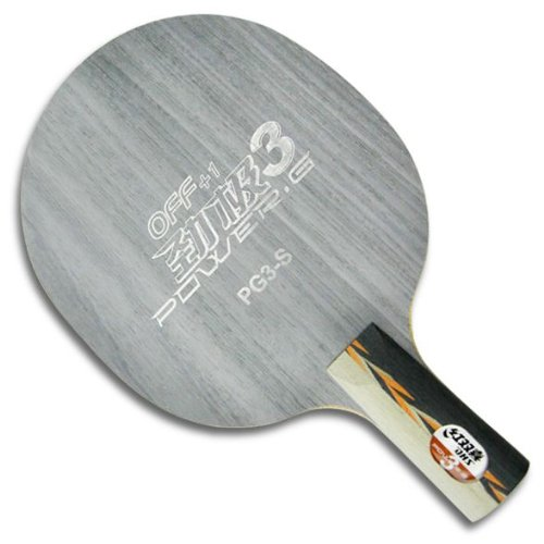 DHS Power G III Ping Pong Blade, Table Tennis Blade   Navy Blue Penhold